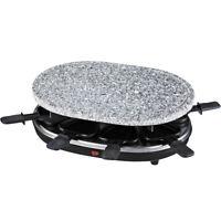 Raclette Grill mit Granitstein für 8 Personen 900Watt H.koenig RP85