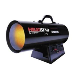 HeatStar Forced Air Propane Heater 75000-125000 BTU HS125FAV F170125