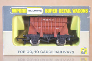 WRENN W5081 UN NUMBERED BR BROWN PRESFLO CEMENT HOPPER WAGON MINT BOXED ni