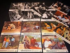 LA VALLEE DU MYSTERE  jeu 22 photos lobby cards cinema western 1967