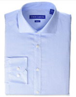 Vince Camuto Men's Slim Fit Spread Collar Fashion Dress Shirt Size 15 32/33