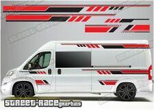 Motorhome Campervan 030 graphics stickers decal Fiat Ducato Citroen Relay Boxer
