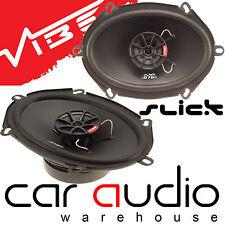 """Vibe SLICK57-V7 5""""x7"""" 6""""x8"""" 480 Watts Pair 2 Way Coaxial Car & Van Door Speakers"""