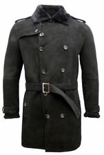 Sheepskin Long Double Breasted Coats & Jackets for Men