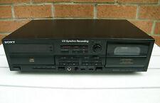 Platine CD/K7 Sony TXD-R11 Lecteur Compact Disc Cassette Deck