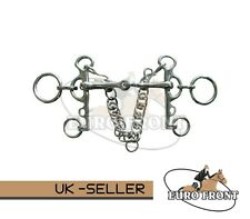 JOINTED RUGBY PELHAM HORSE  PONY RIDING BITS