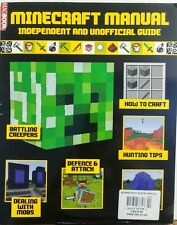 Minecraft Manual UK How to Craft Hunting Tips Defence & Attacks FREE SHIPPING sb