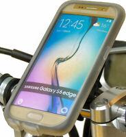Tigra Mountcase Guidon Vélo Kit Pour Samsung Galaxy S6 Bord Avec Pluie Garde