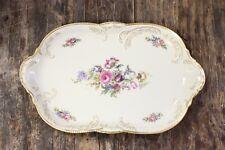 Rosenthal Sanssouci Ivory Gold 5982 Diplomat Oval Serving Platter