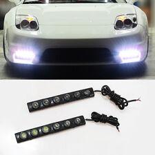 2x LED Daytime Running Lights DRL Fog lamp w/Signal For BMW Serie 1 3 5 E36 E46
