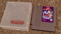 Snow Brothers Bros. Nintendo NES Game Cartridge Capcom lot TESTED & FREE SHIP !!