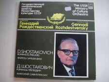 Shostakovich: poemas de Aleksandr Pushkin Lp olfato safiulin – bajo