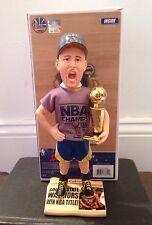 Klay Thompson Golden State Warriors 2015 NBA Champions Real T-Shirt Bobblehead