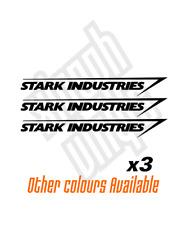 Coche Pegatina Calcomanía Vinilo de Stark Industries Ventana (opcional) Dc Marvel Hombre de Hierro