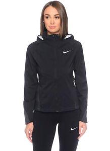 Nike HD Zoned - Jacke Windstopper Laufjacke Schwarz - M - Damen