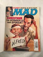 Mad Magazine 405 May 2001 Survivor TV Show Alfred E Neuman Cover