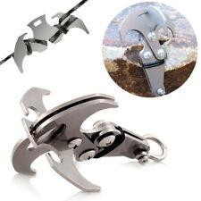 Gravity Hook Survival Folding Grappling Hook Climbing Claw Outdoor Carabiner