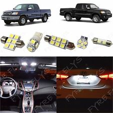 7x White LED lights interior package kit for 2000-2004 Toyota Tundra TT2W
