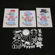 Christmas Snowman Metal Cutting Dies DIY Scrapbooking Album Card Embossing Craft