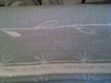 Romo Loris Abstract Blue Linen Fabric full width 140cm x 3m