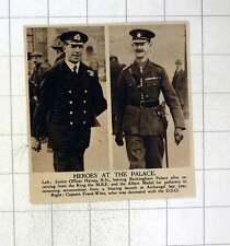 1920 Junior Officer Haines Mbe Albert Medal Captain Frank Witts Dso