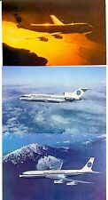 Vintage & Rare Pan Am Picture Postcards Sealed 24 Pack -3 Different Aircraft-New