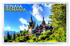 SINAIA ROMANIA FRIDGE MAGNET SOUVENIR IMAN NEVERA