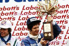 Jody Scheckter Wolf WR1 Winner Canadian Grand Prix 1977 Photograph 2