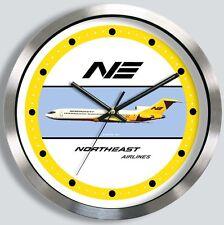 NORTHEAST AIRLINES BOEING 727 WALL CLOCK 1960s 1970s metal