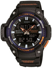 Casio SGW-450H-2B Watch Altimeter Thermometer World Time 100M 5 Alarms New Model