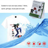 10 X A4 LASER PRINT HEAT PRESS TRANSFER PAPERS THERMAL FOR LIGHT T-SHIRTS
