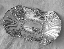 Liberty & Co Cesto Sheffield c1880 Antique Silver Plate Cake Dish Centerpiece