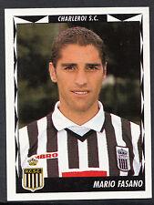 Panini belgique football 1999 sticker-nº 107-charleroi-mario fasano