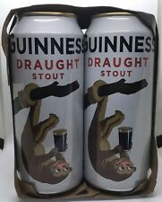 Limited Edition Kinkajou Guinness Draught Stout Aluminum Beer Cans Cardboard Box
