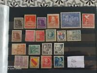 LOT STAMPS COLLECTION GERMAY OCCUPATION ZONE RUSSIA + FRANCE MNH** (MONDO ROS Q4