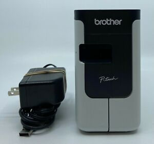Brother PT-P700 PC Mac Connectable Label Maker with Power and USB Cables