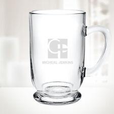 Personalized Bolero Glass Mug, 16oz