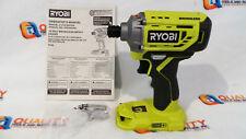"New Ryobi P239 18V Li-Ion Brushless 1/4"" Hex Impact Driver - Bare Tool"
