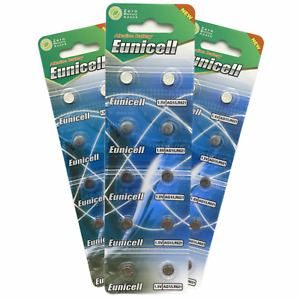 AG1 batteries G1 LR60 LR621 SR621W 1.5v Button/Coin battery Eunicell *UK*