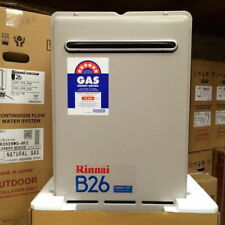 Rinnai B26 Continuous Flow Hot Water System, 60?C Natural Gas