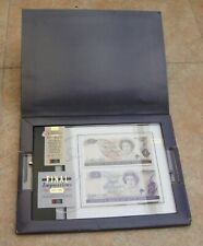 New Zealand Banknotes 1 and 2 Dollar UNC, Original Packing and Certificate