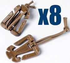 Genuine ITW Web Dominators Web Doms X8 Coyote Brown Webbing UK Seller