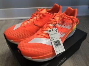Adidas Adizero Adios Pro Running Marathon Shoes in Orange/Scrora - Mens US 10.5