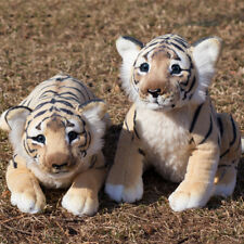 Soft Stuffed Animals Tiger Plush Toys Pillow Simulated Animal Baby Tiger Leopard
