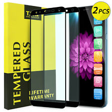 TJS 2-Pcs For [LG K40/K12 Plus/X4 2019] Cover Tempered Glass Screen Protector