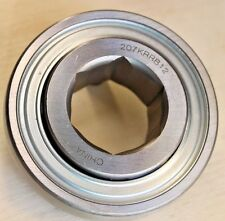 "New 207KRRB12 AG Bearing 1-1/8"" Hex Bore 