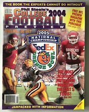Phil Steele's College Football 2004 Preview Magazine
