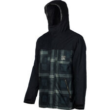 FOURSQUARE Men's RECOIL Jacket - Blacktop/BackwoodsBlk - Medium - NWT