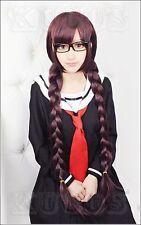 NEW Danganronpa Dangan-Ronpa Toko Fukawa Fashion Hair Long Cosplay Wig