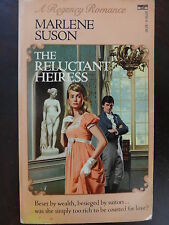 The Reluctant Heiress by Marlene Suson (1985) - Regency PB